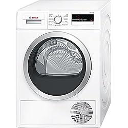 Bosch Serie 4 WTN85200FF Autonome Charge avant 7kg B Blanc sèche-linge - Sèche-linge (Autonome, Charge avant, Condensation, Blanc, Rotatif, Tactil, Droite)