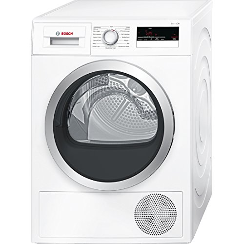 Bosch Serie 4 wtn85200ff Freestanding Front-Load 7 kg B White - Tumble Dryer (Freestanding, Front Loading, Condensation, B, White, B)