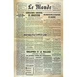 COMBAT [No 3474] du 01/09/1955 - MAROC ET ALGERIE - PREOCCUPATION ESSENTIELLES DU GOUVERNEMENT - SOUSTELLE A PARIS - UNE LETTRE DE GRANDVAL AU PRESIDENT RENE COTY - SITUATION CONFUSE EN ARGENTINE - PERON DEMISSIONNE - AU MOYEN-ORIENT - L'OFFENSIVE ARABE EN PERTE DE VITESSE - PARISIENS PLUS NOIRS - PARIS PLUS BLANC PAR SATURNE