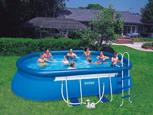 Oval Frame Pool 610x366x122 Intex 57982