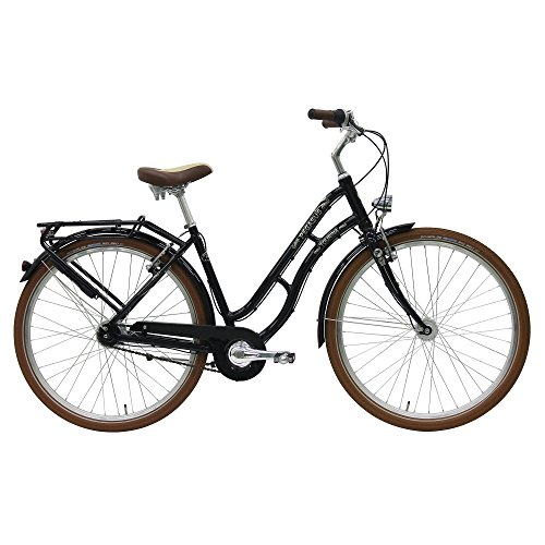 Pegasus Tourina Damen 8 Gang City Fahrrad 2017, Farbe:schwarz, Rahmenhöhe:45 cm
