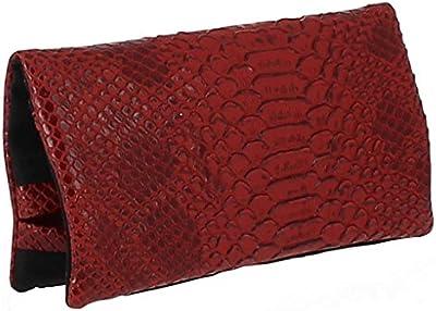 TABAQUERA Plan B Modelo TheOne Dragón Rojo -Funda para tabaco de liar de diseño glamuroso con compartimentos para boquillas, papel y picadura / TheOne DragónR