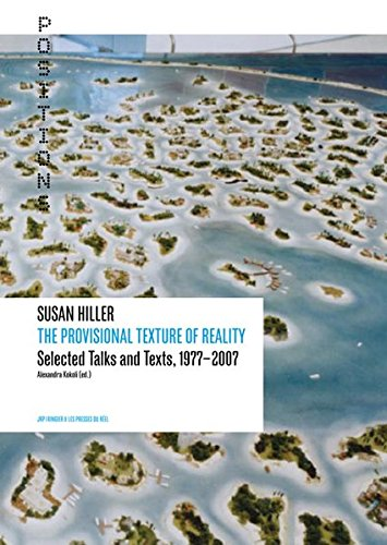 The Provisional Texture of Reality : Selected Talks and Texts, 1977-2007