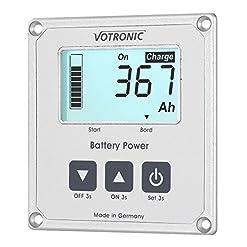 votronic 1263LCD della batteria del computer 100S Smart Shunt e dimensioni Band