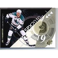 2010 / 11 Upper Deck SPX Hockey Card # 84 Joe Thornton Sharks In a