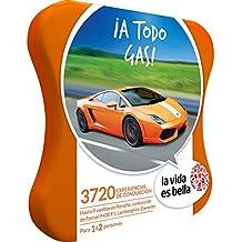 LA VIDA ES BELLA - Caja Regalo - ¡A TODO GAS! - 3700 experiencias de conducción