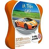 LA VIDA ES BELLA - Caja Regalo - ¡A TODO GAS! - 3720 experiencias de aventura y conducción con Porsche, Ferrari, Lamborghini y mucho más