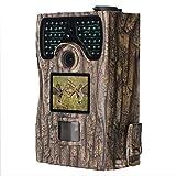 SongKai88 Caccia Fotocamera, Wildlife Trailer Camera 12 MP 1080P 2,0 LCD HD infrarossi Distanza d'Affari 20 Metri per la Notte di rilevamento degli Animali e la Sicurezza Domestica