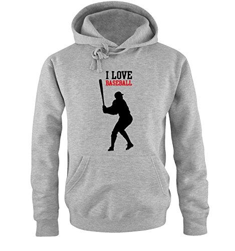 Comedy Shirts -  Felpa con cappuccio  - Maniche lunghe  - Uomo grey / black-red