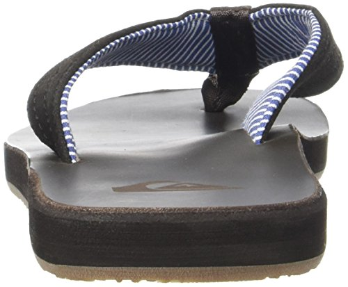 Quiksilver Carver Crew, Tongs Homme Multicolore (BROWN)