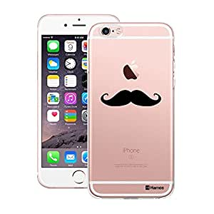 Customizable Hamee Original Designer Cover Thin Fit Crystal Clear Plastic Hard Back Case for Apple iPhone 7 (Moochie)