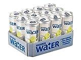 RHODIUS Water Ein Hauch von Limette Minze, 12er Pack (12 x 330 ml)