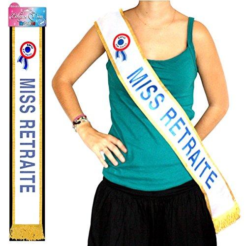 Echarpe Miss Retraite 3760147514170