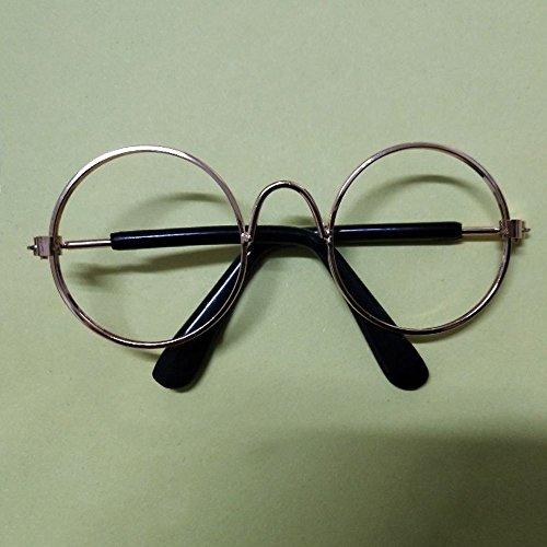 Seturrip - 1Pcs heiße Hund Haustier-Brille für Pet Products Eye-wear Dog Pet Sonnenbrille Fotos Props Zubehör Tierbedarf Katzen Glasses [ohne Objektiv]