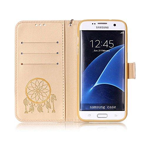 SAMSUNG PHONE CASE?XFAY HX456 Phone Case Samsung Galaxy Campanula Serie Handytasche Handyhülle Case ?PU Leder Flip Wallet Case Cover Schutzhülle für Samsung Galaxy A310-14 Farbe-6
