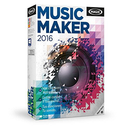 MAGIX Music Maker 2016 - Software De Edición De Audio/Música
