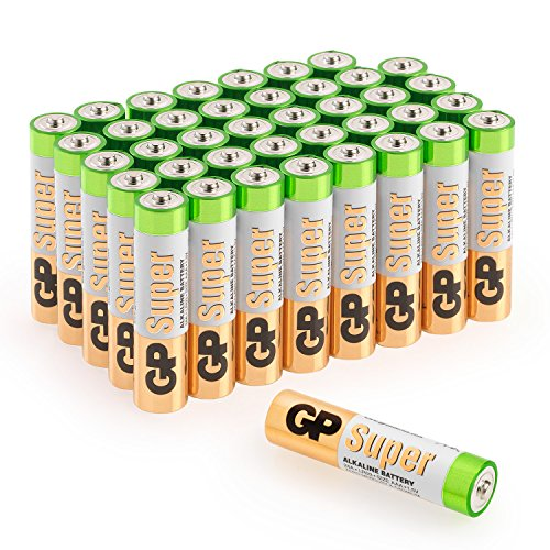 Batterien AAA Micro Super Alkaline Vorratspack 40 Stück GP Batteries