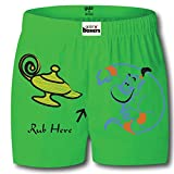Gabi Men's Green Shorts (Small)
