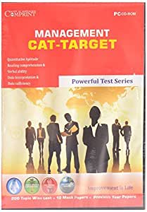 MANAGEMENT CAT-TARGET CD- EDUCATIONAL CD - TEST PREPARATION CD