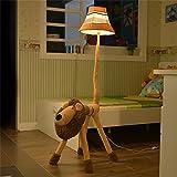 Uncle Sam LI - Luce della lampada da terra piccoli animali moderno e minimalista, camera camera da letto per bambini fumetto bello Corridoio Corridoio panno Ferro Illuminazione per interni