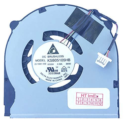 Lüfter/Kühler Fan kompatibel für Sony Vaio SVT1311W1E, SVT1312M1ES.G4, SVT1313V1ES.G4, SVT1511M1RS RU3, SVT1511C5E, SVT1511M1ES IT1, SVT1511M1ES, SVT1511M1ES EE9 - G4 Grafikkarte
