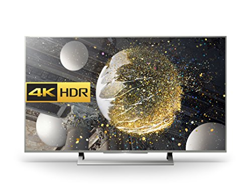 Sony Bravia KD49XD8077 49 inch Android 4K HDR Ultra HD Smart TV with Youview, Freeview HD and PlayStation Now (2016 Model) - Silver (Certified Refurbished)