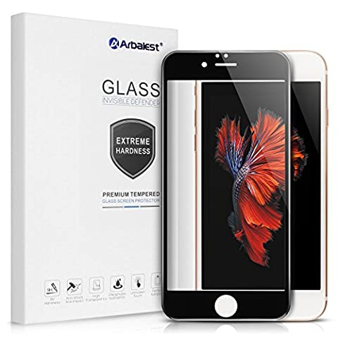 Schutzfolie iPhone 6 6s, Arbalest® High Clear [Full Coverage] 0.26mm