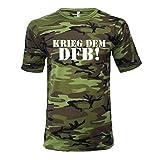 Krieg dem DFB T-Shirt (Camouflage, XL)