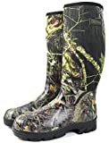 Nitehawk - Neopren-Gummistiefel für Jagd & Angeln - Camouflage-Muster - Größe 43