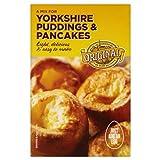 Ursprüngliche Yorkshire Puddings und Pfannkuchen Mix 6 x 142gm