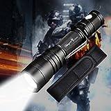Odepro B108 Taktische Taschenlampe Wiederaufladbar Militär Polizei Licht