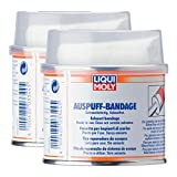 2x LIQUI MOLY 3344 Auspuff-Bandage Auspuff-Reparatur 1m