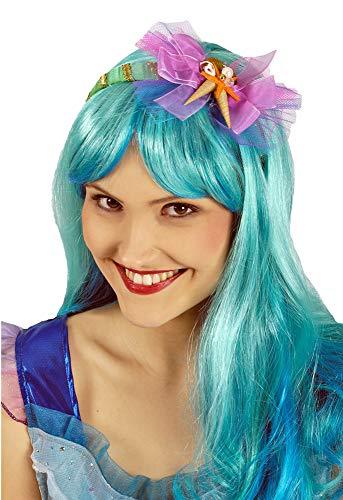 (Meerjungfrau Haarreif mit Muscheln und Seestern - Bezauberndes Zubehör zum Kostüm als Meerjungfrau, Nixe, Mermaid und Meeresprinzessin zu Fasching, Mottoparty und Junggesellenabschied)