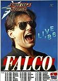 Falco - Live (1986) - Konzertplakat, Konzertposter Vergleich