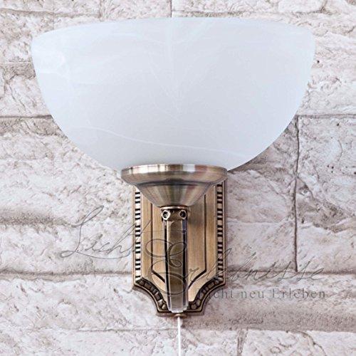 Schöne Halogen-Jugendstil 28 Watt Wohnzimmerlampe Wandlampe