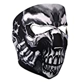 Lmeno Neoprene Assassin Skull Full Face Mask Reversible...