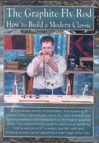 The Graphite Fly Rod: How to Build a Modern Classic by Russ Gooding (3 Hour - 2 Disk Tutorial DVD) Graphit-dvd