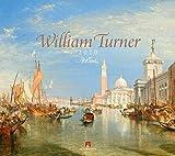 William Turner 2020, Wandkalender im Querformat (54x48 cm) - Kunstkalender (Romantik / Impressionismus) mit Monatskalendarium