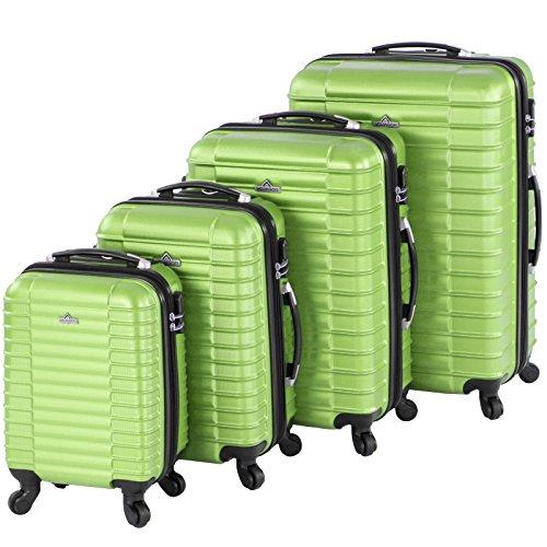 Vojagor Trolley valigia set valigie rigide bagagli da 4...