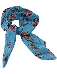 Women's Face Scarf With 100 % Cotton Floral Print ( Set Of 2 Pcs )