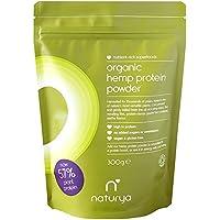 Naturya | Organic Hemp Protein Powder 300g | 57% Vegan Protein and 21 amino acids | Certified Organic, Vegan & Gluten Free