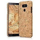 kwmobile LG G6 Hülle - Handyhülle für LG G6 - Handy Case Kork Cover Schutzhülle