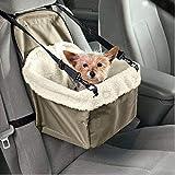 Yshen Housse de Siège Hamac Style Pet Dog Carrier avec Laisse Chihuahua Chien Sac Easy-fit Sac De Siège De Voiture pour Chien Chat Sac Poussette