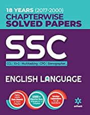 SSC Chapterwise Solved Papers English Language 2018