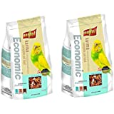 Pupkart Vitapol Economic Bird Food for Budgies Bag (1200 g) - Pack of 2