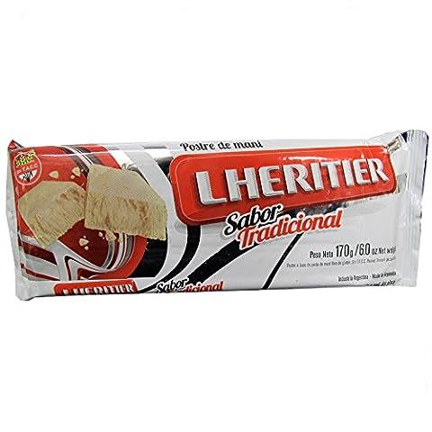 Lhéritier saveur 180g traditionnelle ( mantecol ) - arachide Dessert comparable