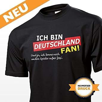 EM Shirt – lustiges Herren Fanshirt / Trikot / EM-Shirt / Fußballshirt für Deutschland Fans – perfekt für Fanparty / Fussball Events / EM2016