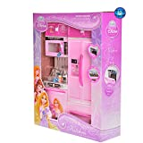 Toy Sports House Modern Kitchen Toy Princess Set For Your Baby Girl, Battery Operated Play Set With Refrigerator, Accessories, Fruits, Music And Lights, Pretend Play Toy, Birthday Gift For Kids