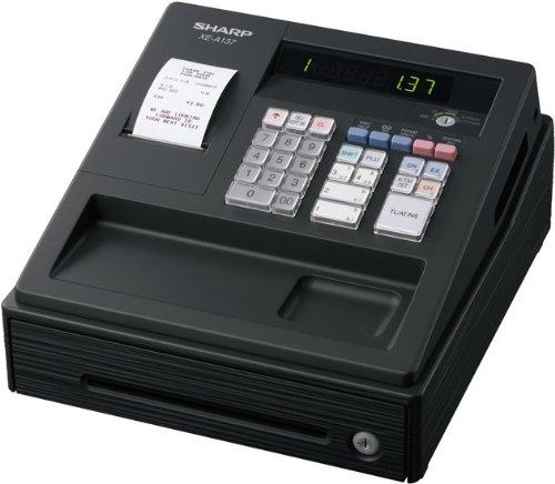 SHARP XEA137BK Elektronische Kasse XE-A137, schwarz