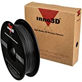Inno3D ABS Filament, 1,75mm 200mm spool, Black, 3DP-FA175-BK05 (spool, Black)